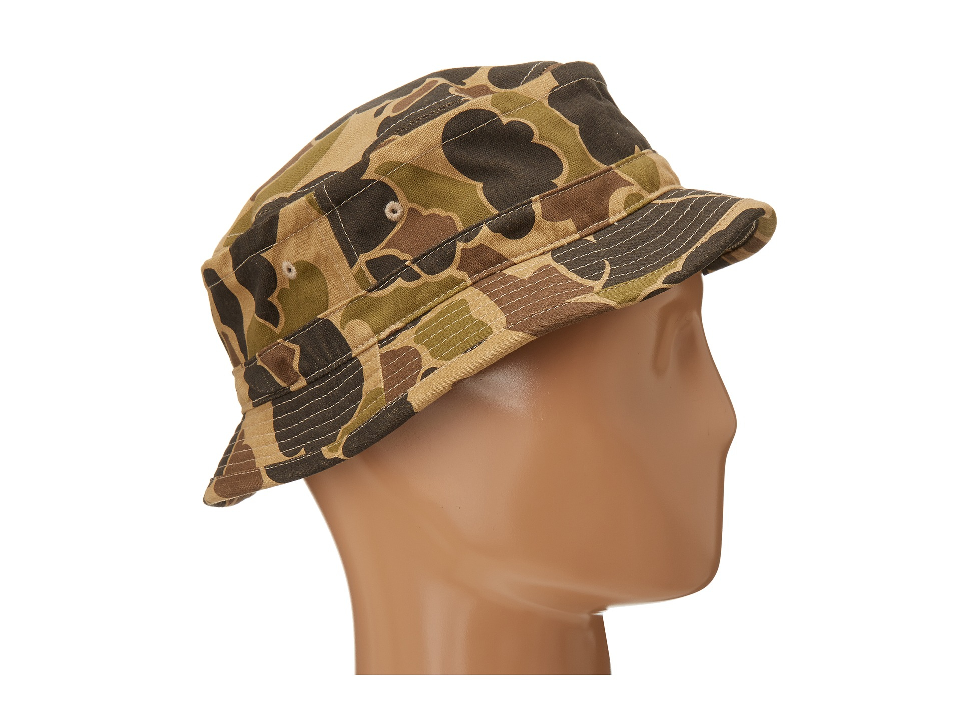 3868bb9ed Obey Green Uplands Bucket Hat for men