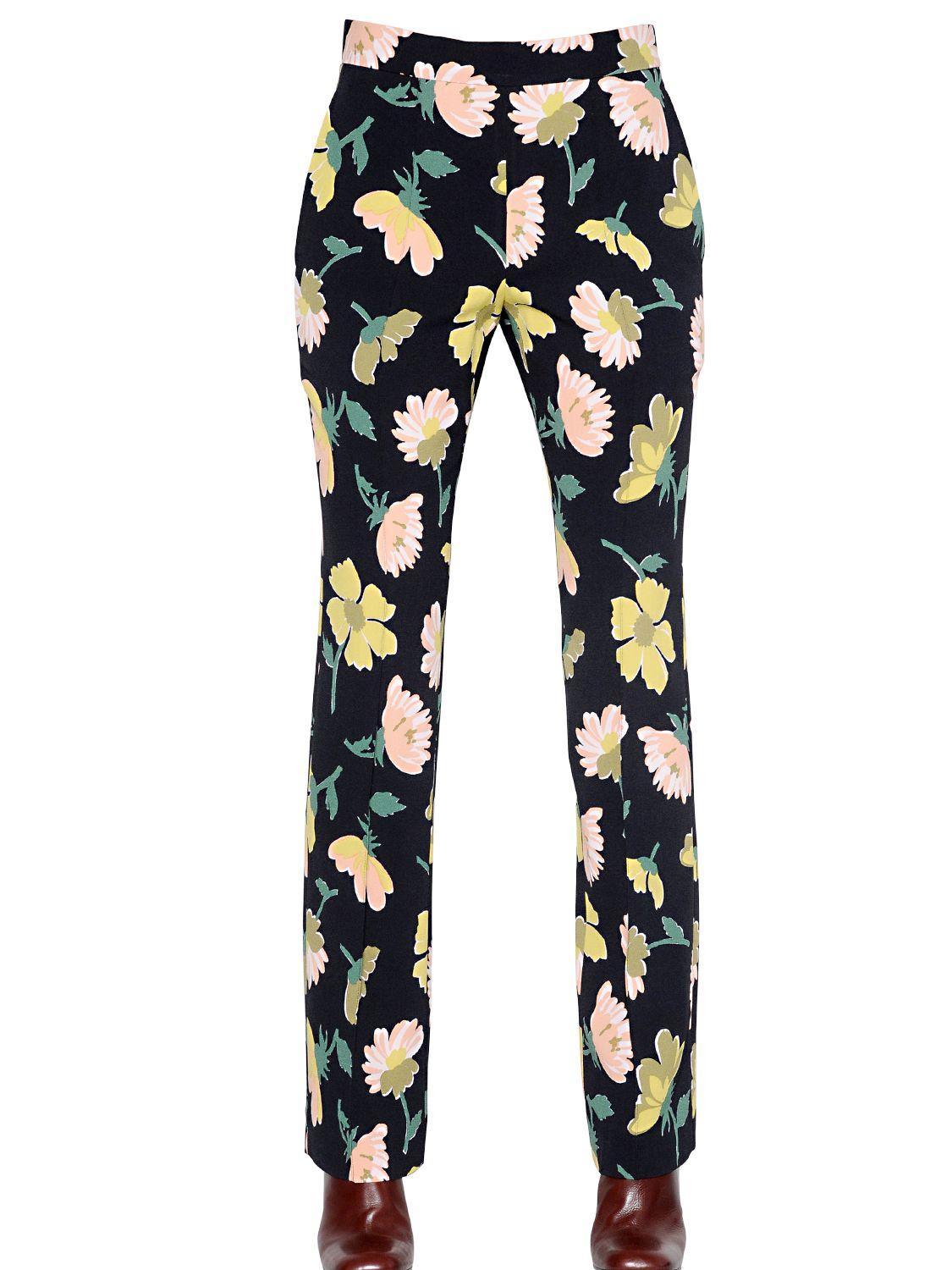 Marni floral trousers Amazon Footaction Buy Cheap Purchase 6UHzgT2P