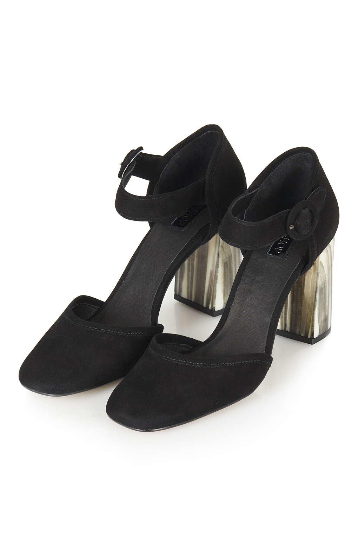 River Island Black Mary Jane Shoes