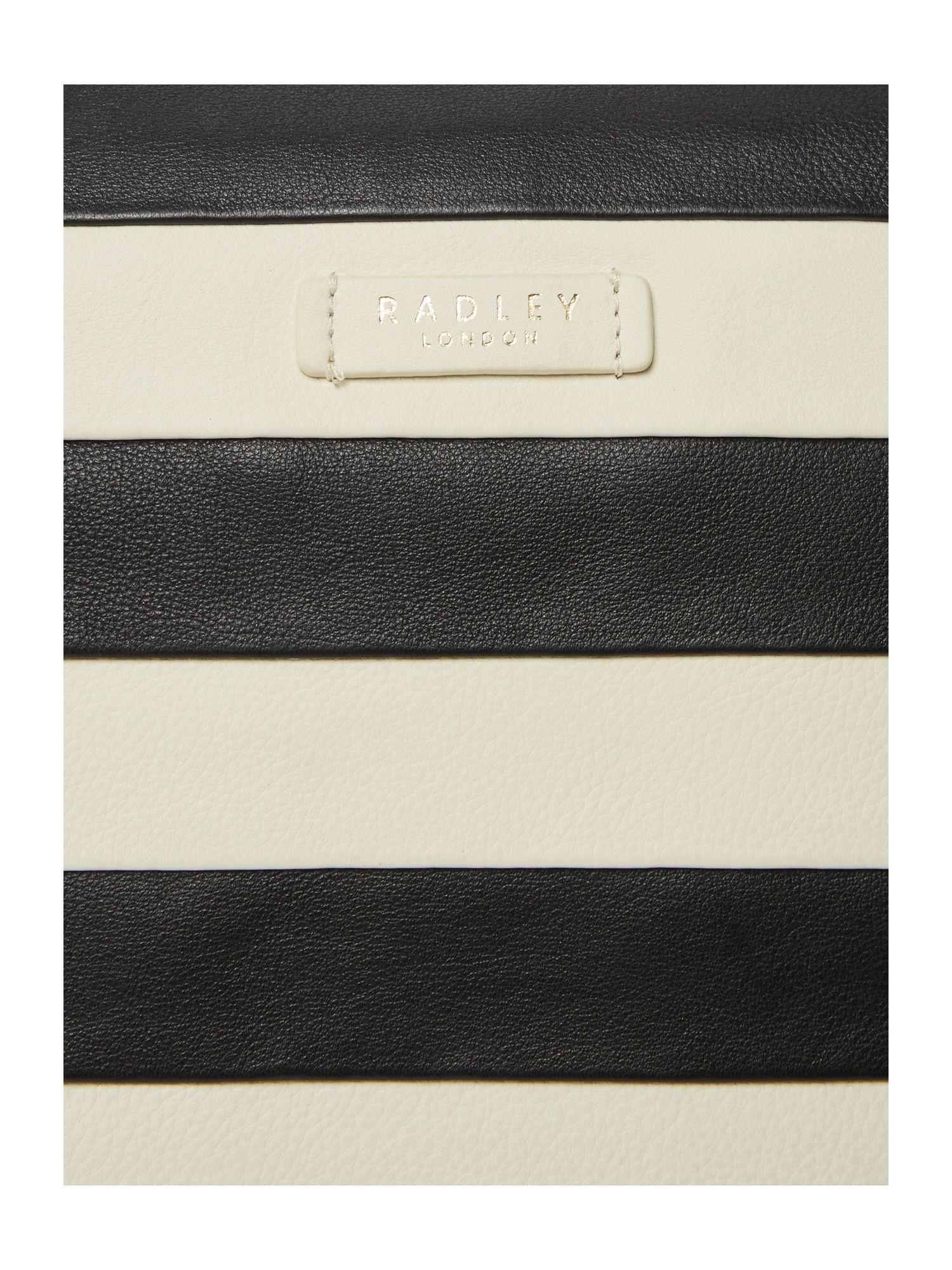 Radley Leather Putney Black Large Ziptop Cross Body