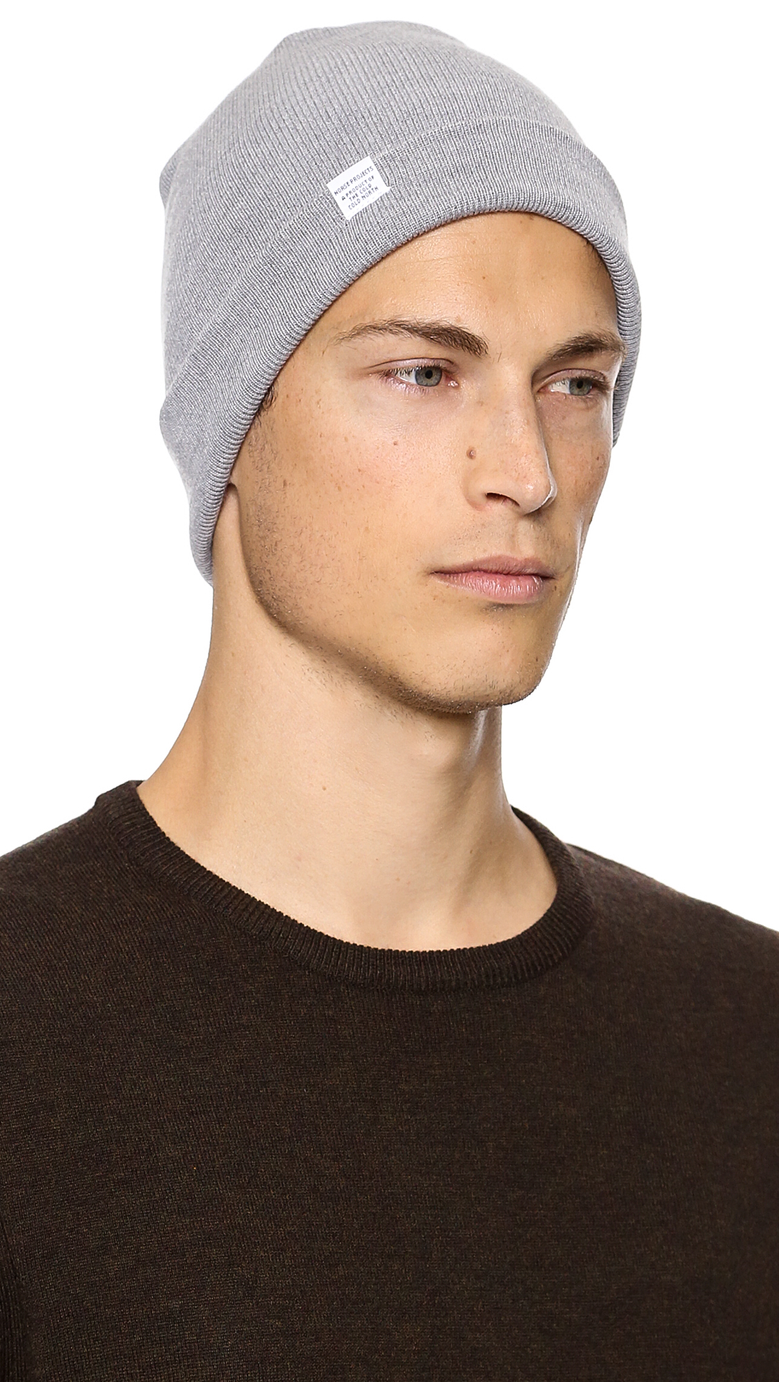 Norse Projects Norse Top Beanie in Gray for Men - Lyst 63cd7432799