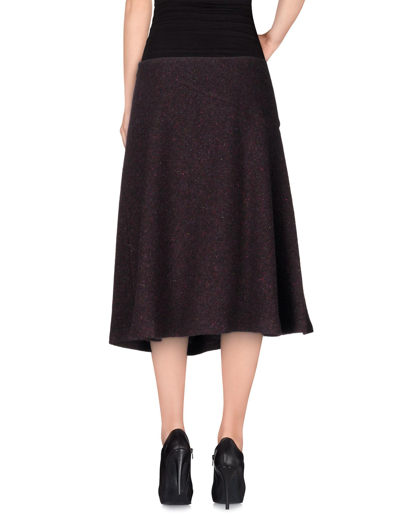 Lilith 3 4 Length Skirt In Purple Deep Purple Lyst