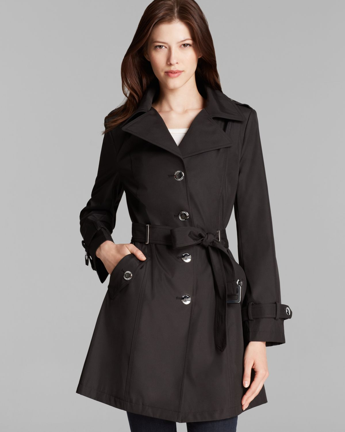 black trench coat with hood - photo #42