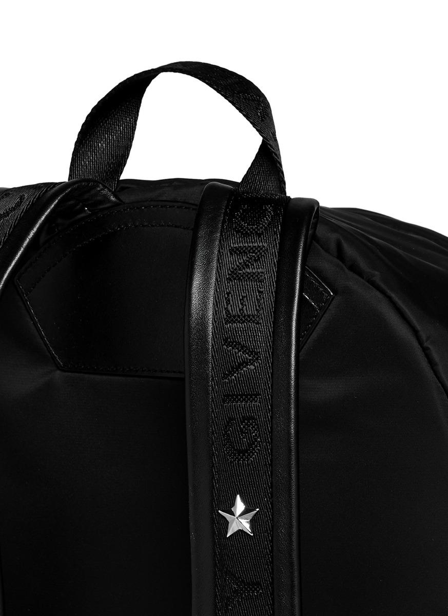 Givenchy Rottweiler Print Nylon Backpack in Black for Men