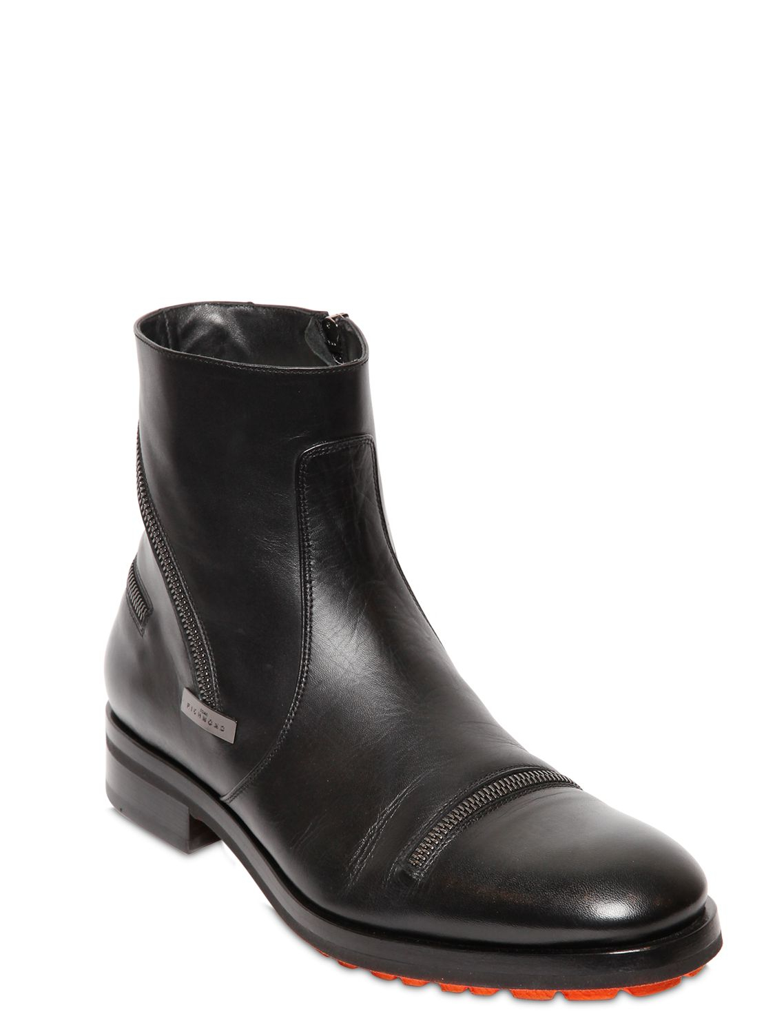 Marc Jacobs Boots 684220 smooth leather Decorative buckle Metallic eDSW8Z