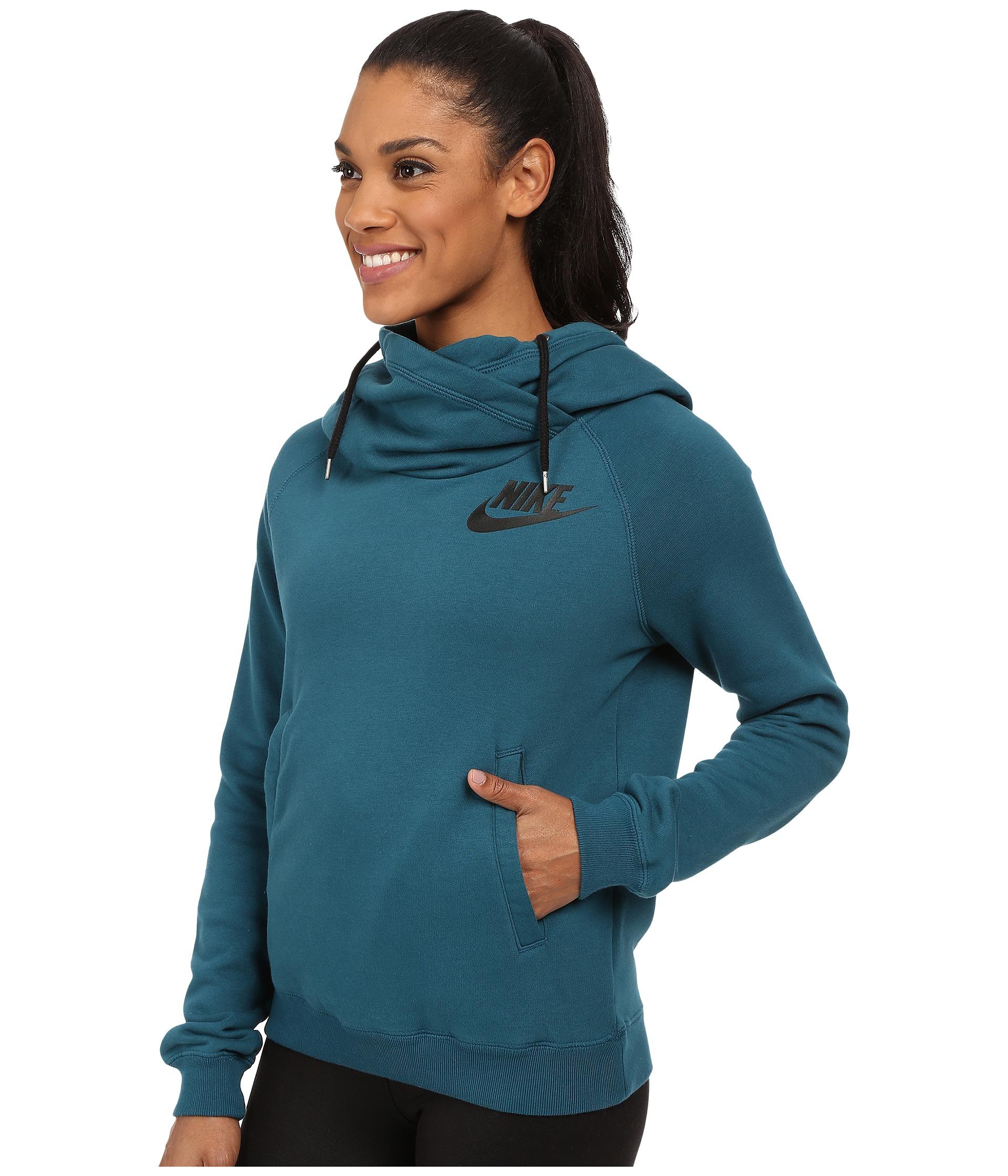 Funnel neck hoodie