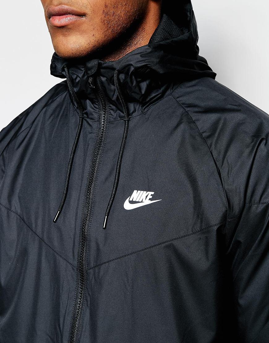 51cda57674d0 Nike Windbreaker Jacket 727324-010 in Black for Men - Lyst
