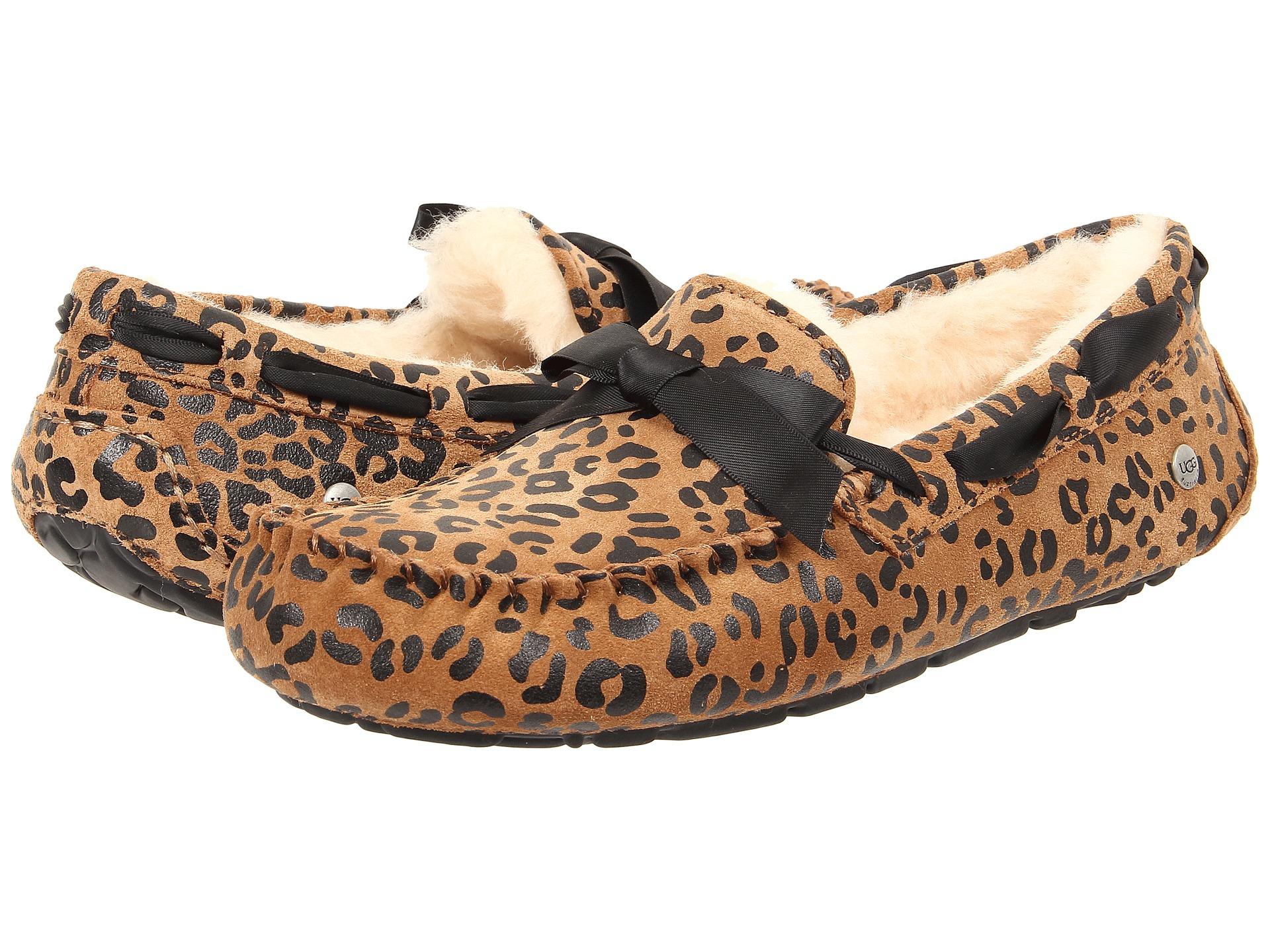 54054c34173 UGG Brown Dakota Leopard Bow