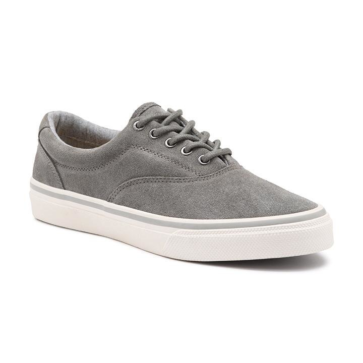 gh bass amp co classic compass suede sneaker in gray for