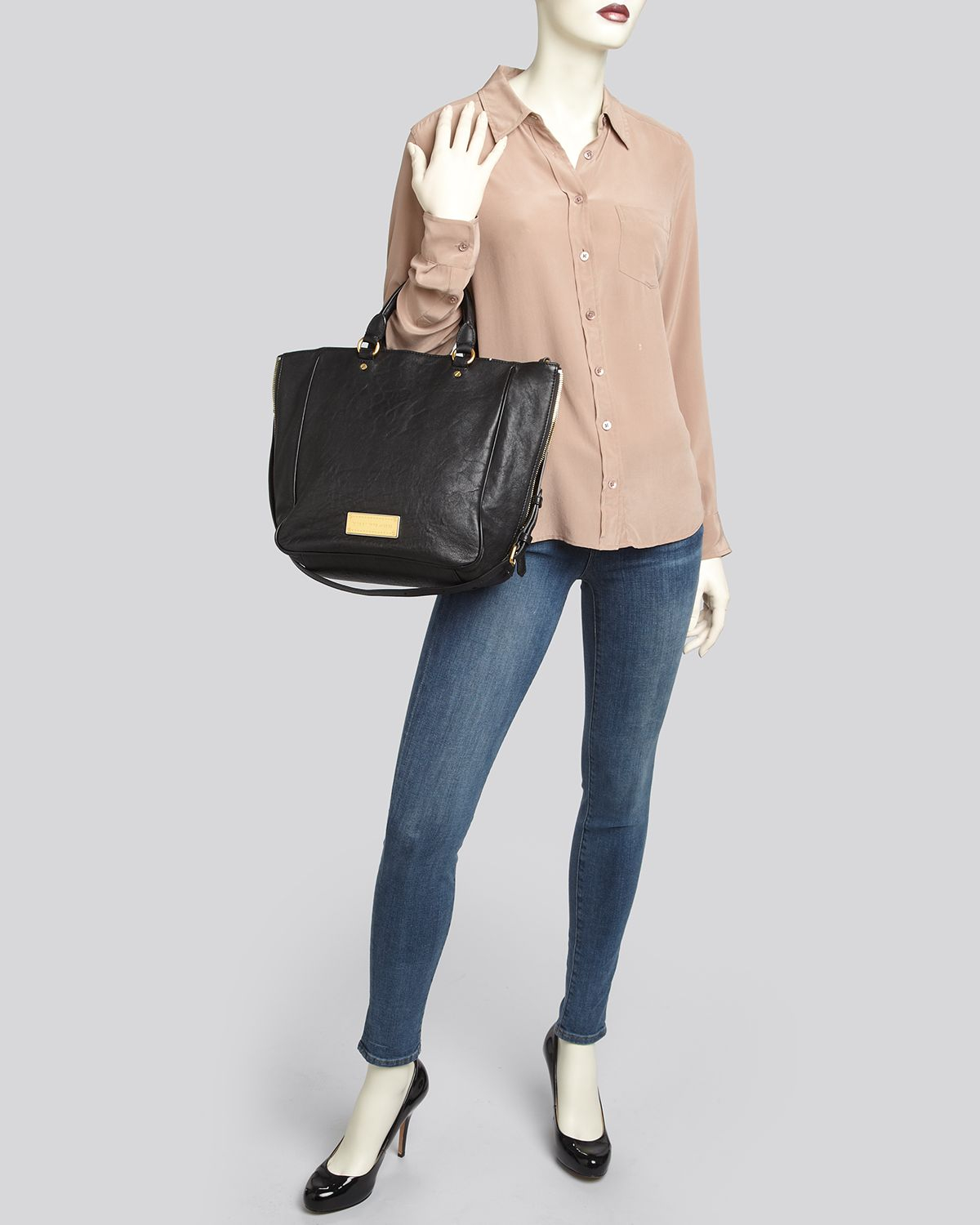 14afcc233d6f Lyst - Marc By Marc Jacobs Tote Washed Up in Brown