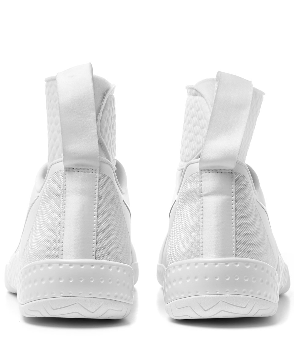 Nike White Flare Trainers