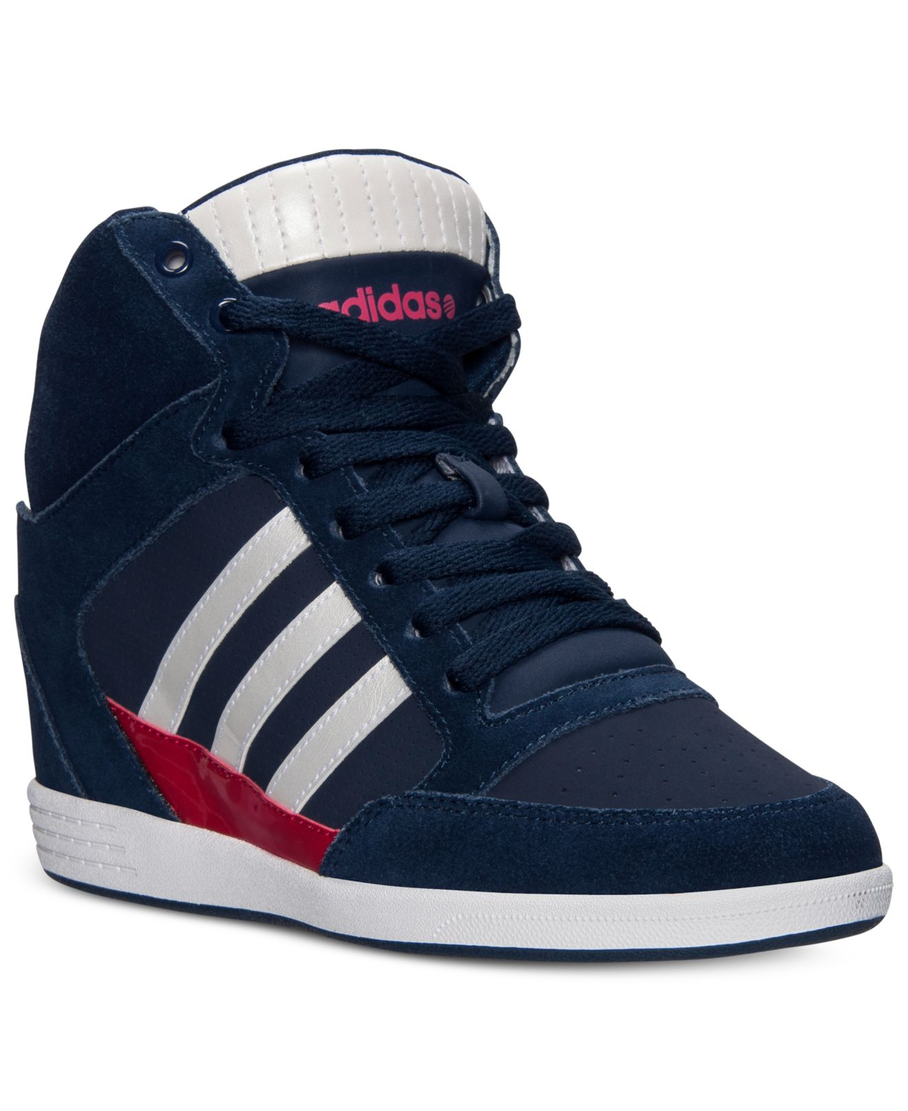Lyst - adidas Women S Weneo Super Wedge Casual Sneakers From Finish ... b7a1a4170