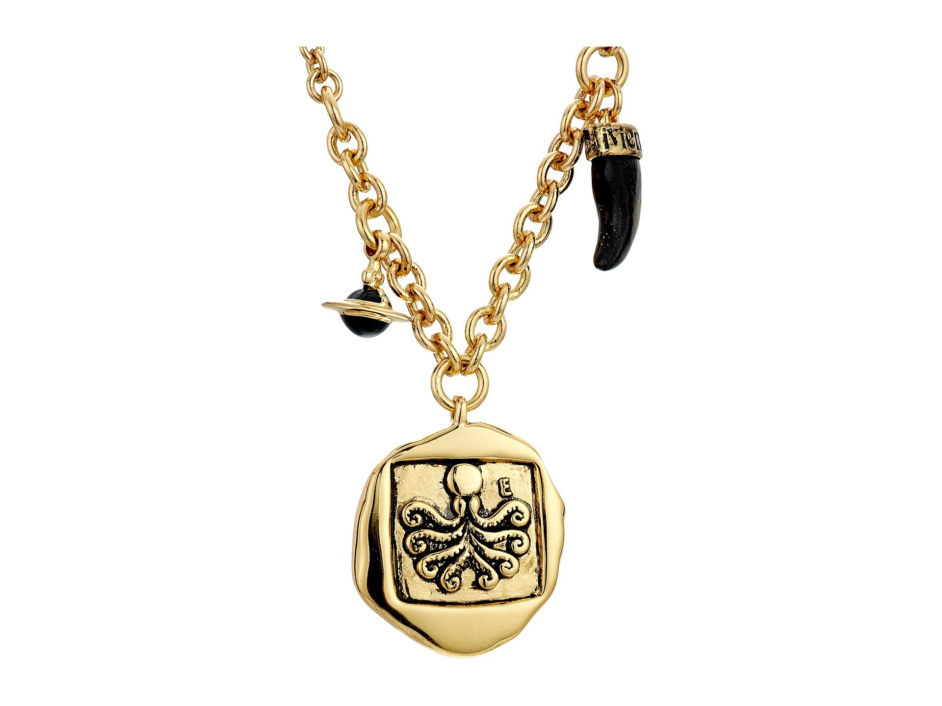 vivienne westwood venicius coin pendant necklace in
