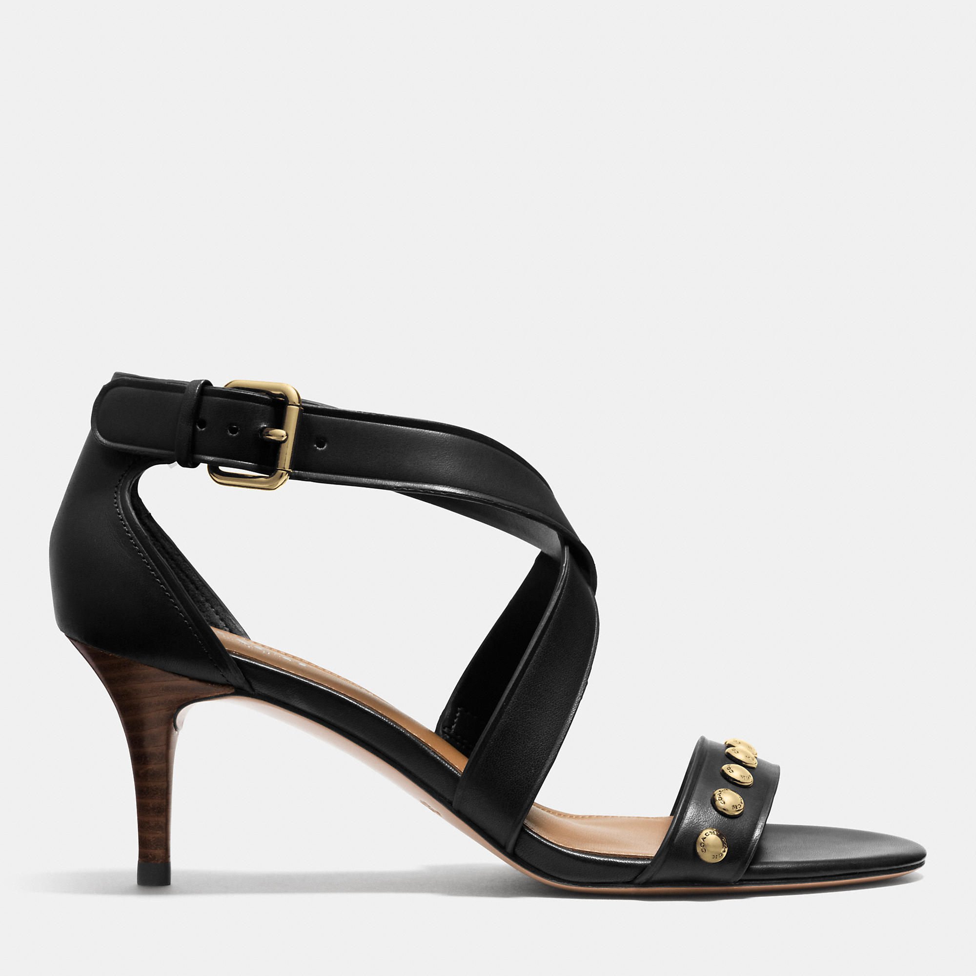 Coach Madison Heel in Black | Lyst