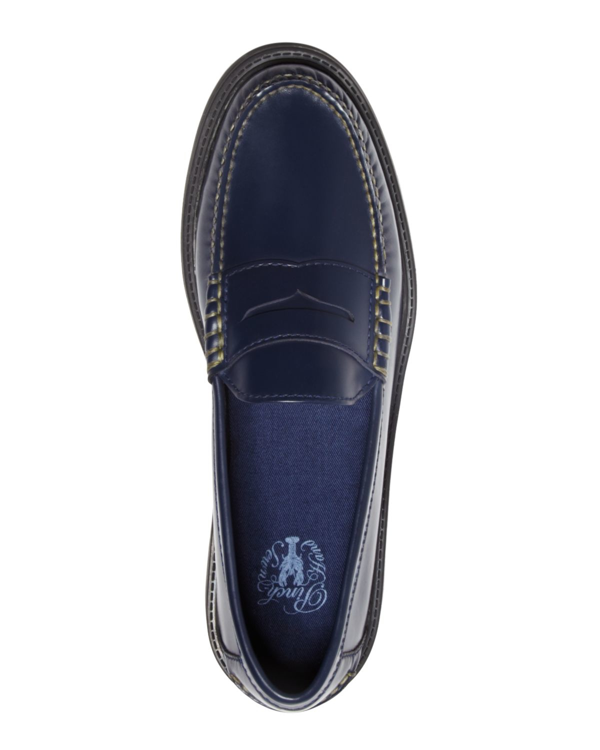 Lyst - Cole Haan Pinch Campus Penny Loafers in Blue