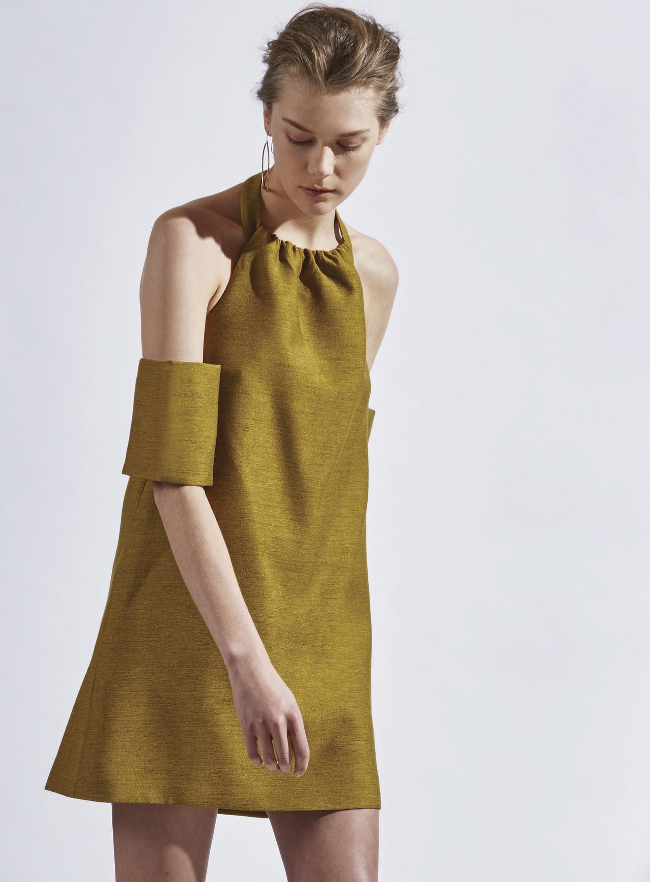 Womens Perfect Lie Dress Short Sleeve Dress C/Meo Collective Tx9Hx