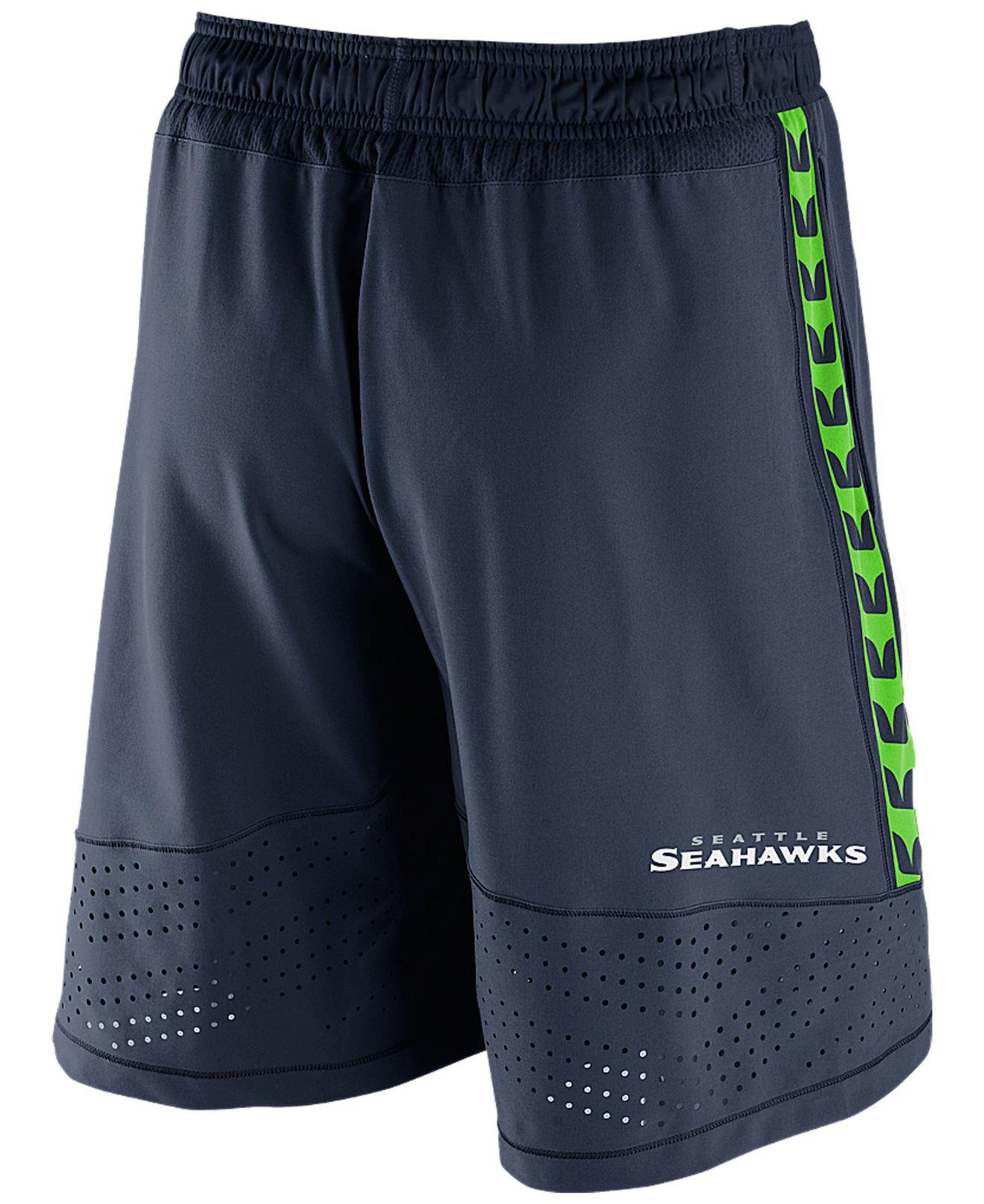Lyst - Nike Men'S Seattle Seahawks Speed Vent Shorts in ...