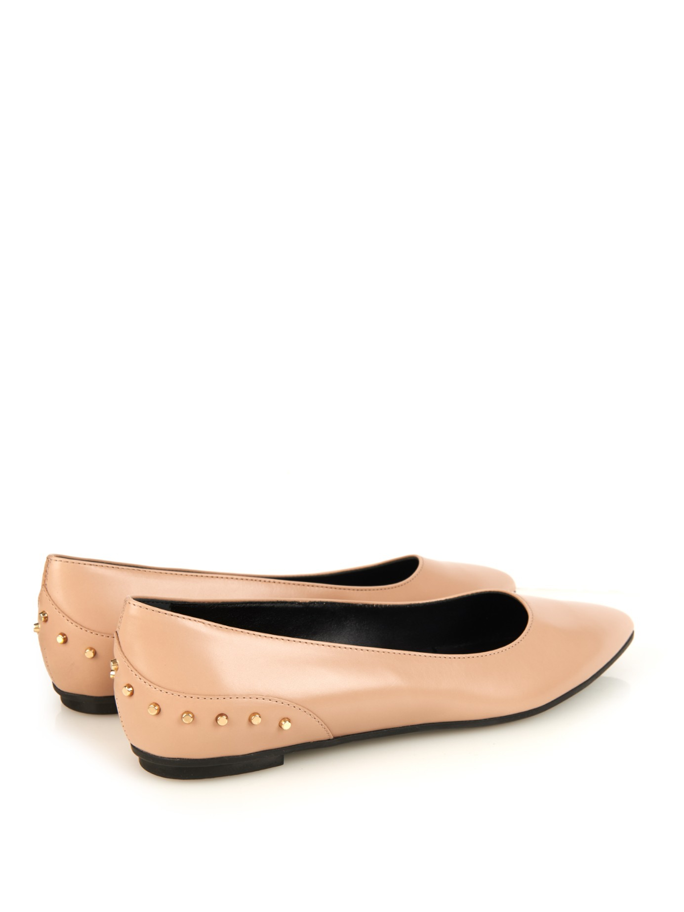 Tod's Leather Pointed-Toe Flats reliable online outlet hsmavGt