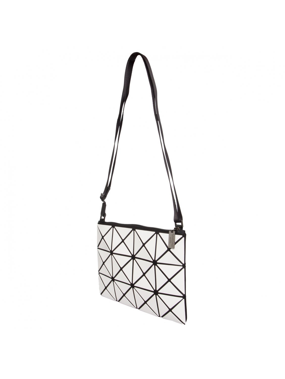 Bao Bao Issey Miyake Lucent Prism Shoulder Bag White in White - Lyst c15e829a680a8