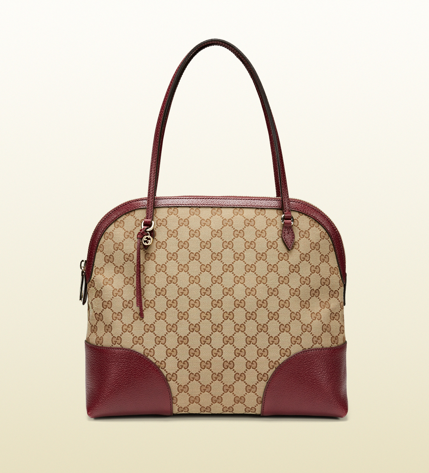 9f79d4a4eec Lyst - Gucci Bree Original Gg Canvas Shoulder Bag in Purple