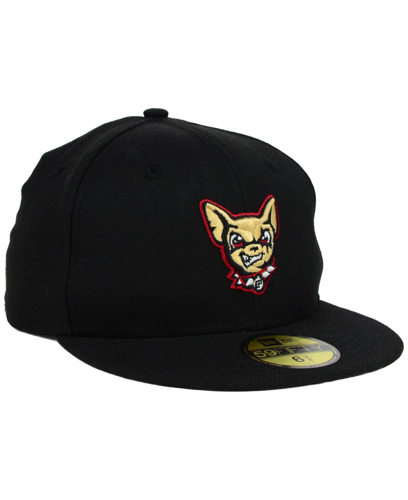 purchase cheap b636c 3f1fb Lyst - Ktz Kids  El Paso Chihuahuas 59fifty Cap in Black for Men