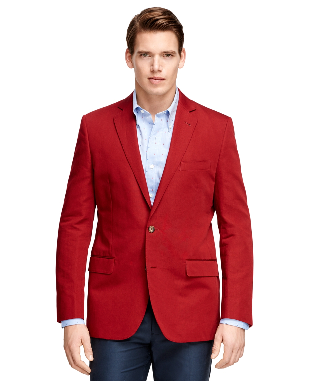 Lyst Brooks Brothers Fitzgerald Fit Two Button Sport