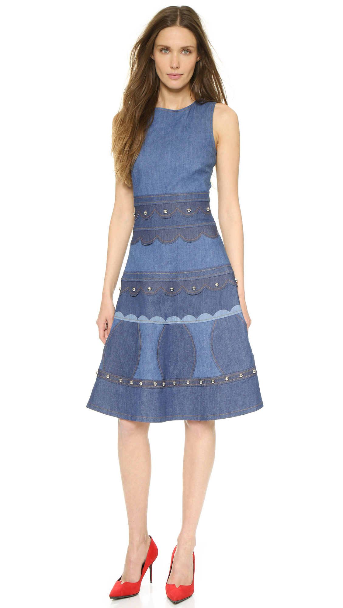 Find sleeveless denim dress at ShopStyle. Shop the latest collection of sleeveless denim dress from the most popular stores - all in one place.