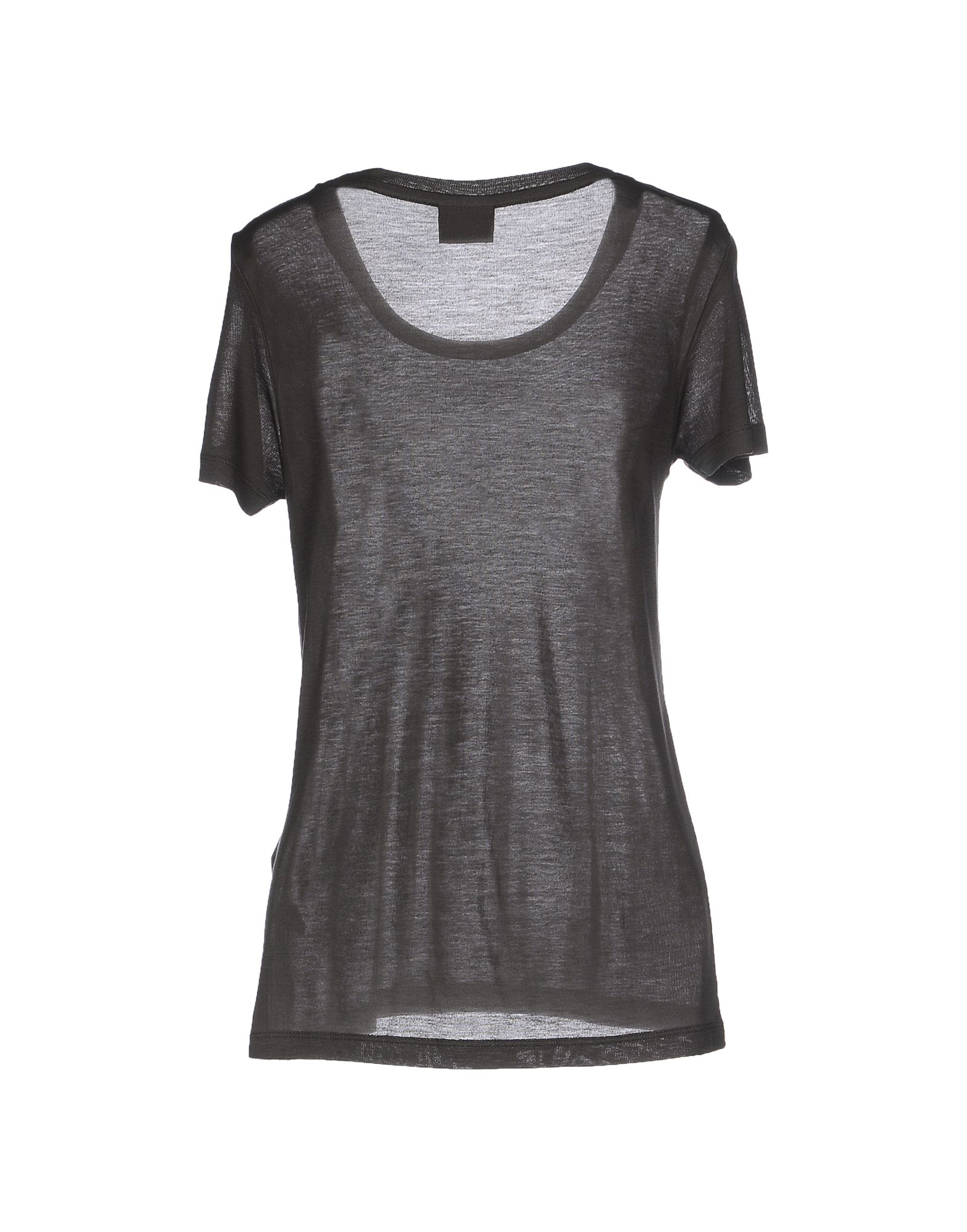 vero moda t shirt in gray lyst. Black Bedroom Furniture Sets. Home Design Ideas