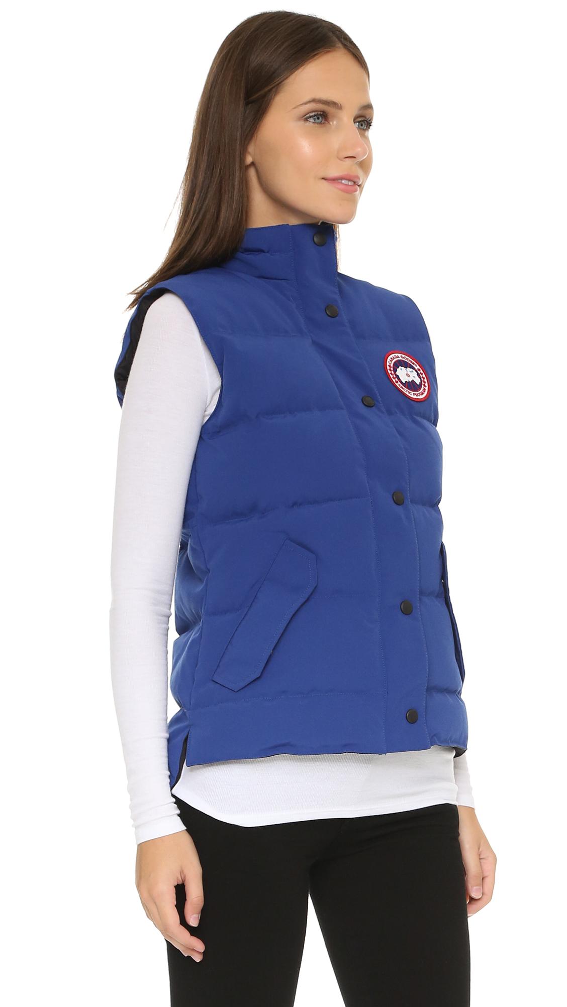 Canada Goose' Freestyle Vest Sky Blue Women