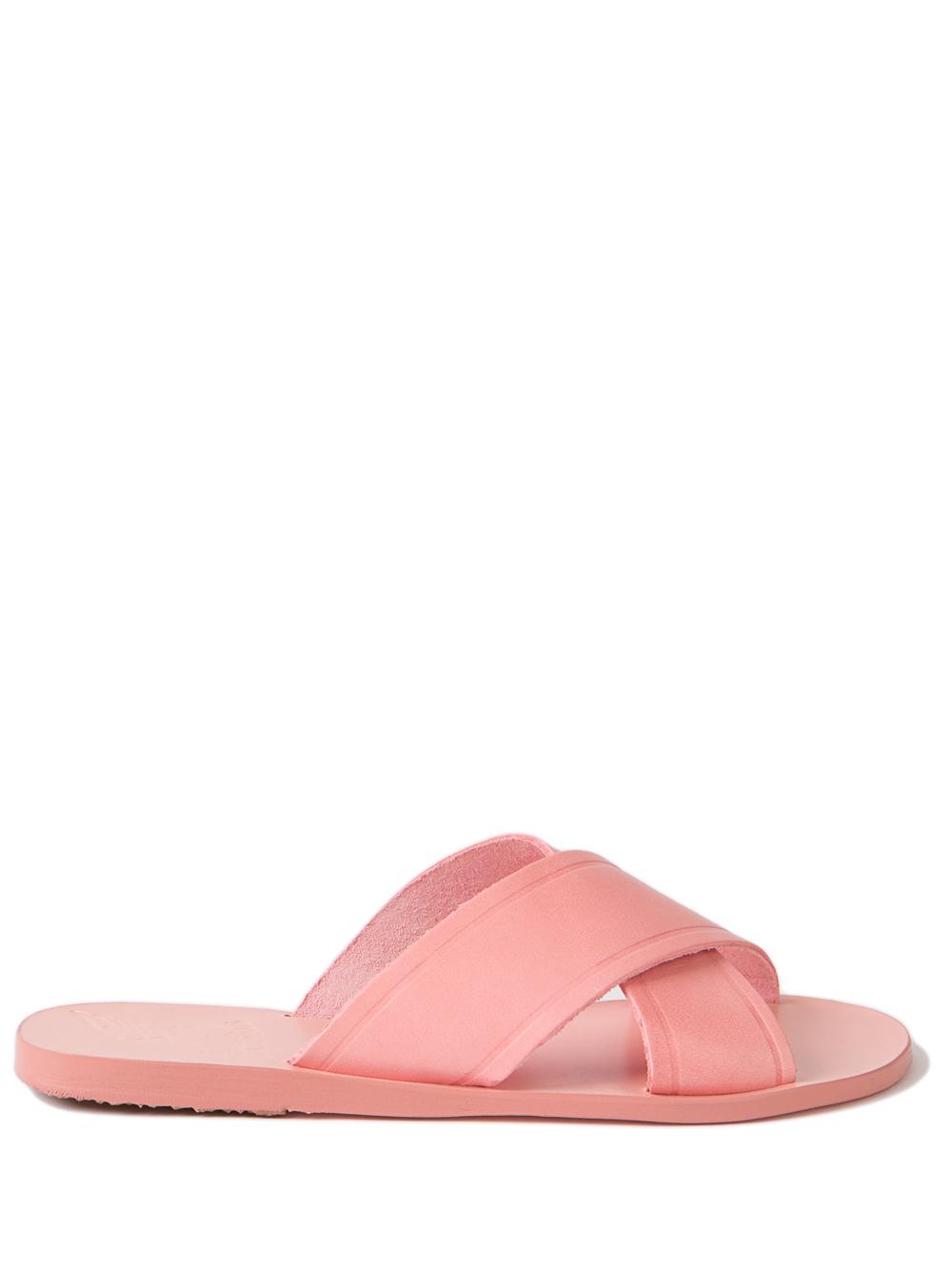 ancient sandals slides in pink lyst