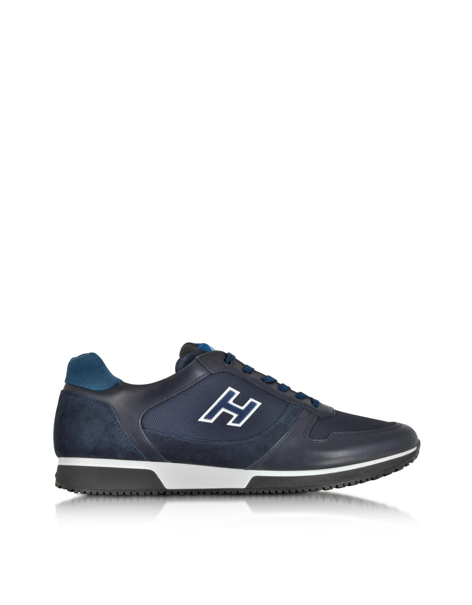 logo sneakers - Blue Hogan ZPw8YMr