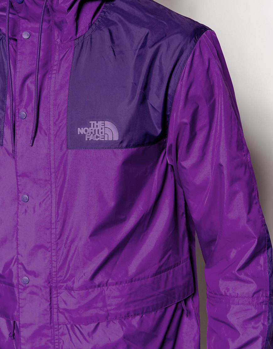 Lyst The North Face 1985 Mountain Jacket In Purple For Men