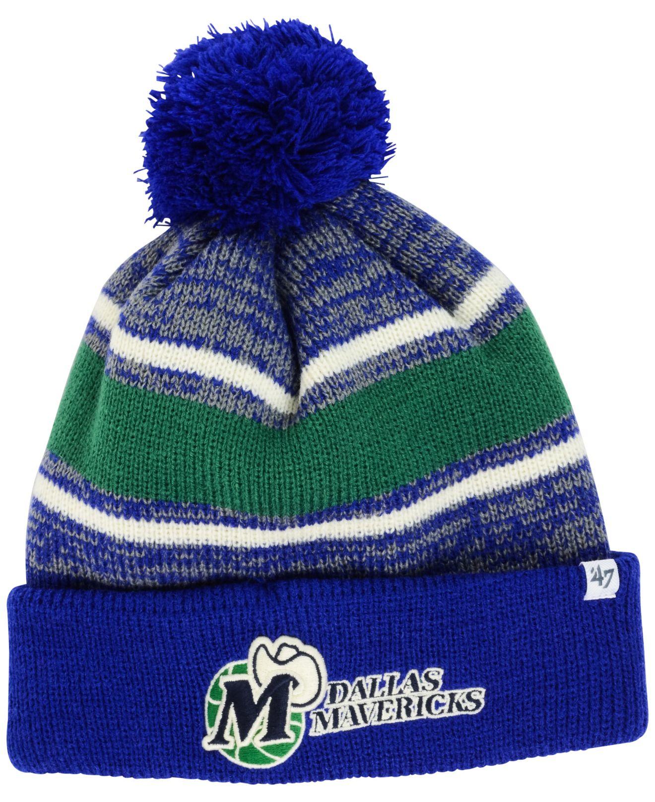 ... germany lyst 47 brand dallas mavericks fairfax knit hat in green for  men 34e38 9cfa9 e88387fab51