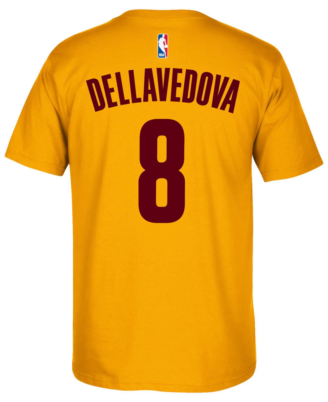 best website 4c607 70fcb Metallic Men's Matthew Dellavedova Cleveland Cavaliers Player T-shirt
