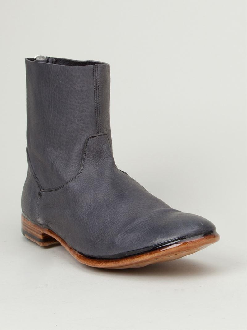 Sleek Ankle Length Slip On Shoes For Men