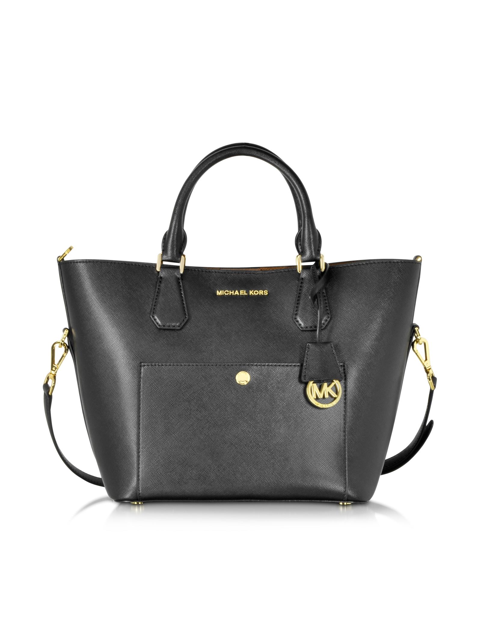 Michael Kors Greenwich Large Grab Bag Black