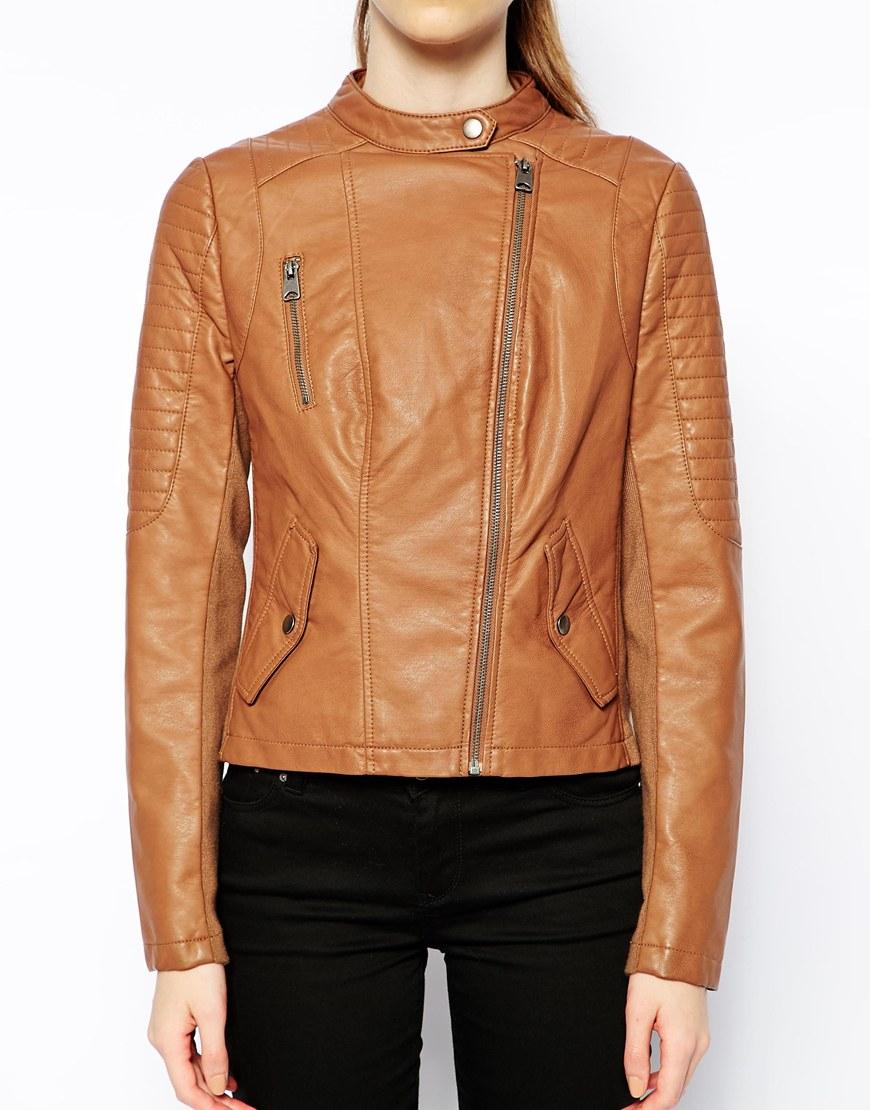 Leather jacket joyce manor lyrics - Oasis Collarless Leather Biker Jacket
