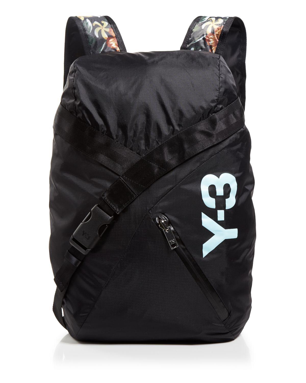895165130a Y-3 Fs Backpack in Black for Men - Lyst