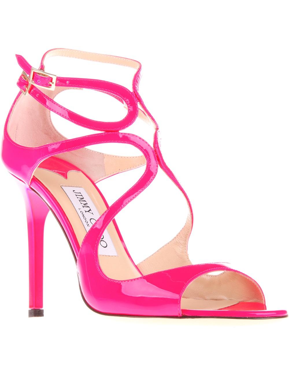 pink jimmy choos