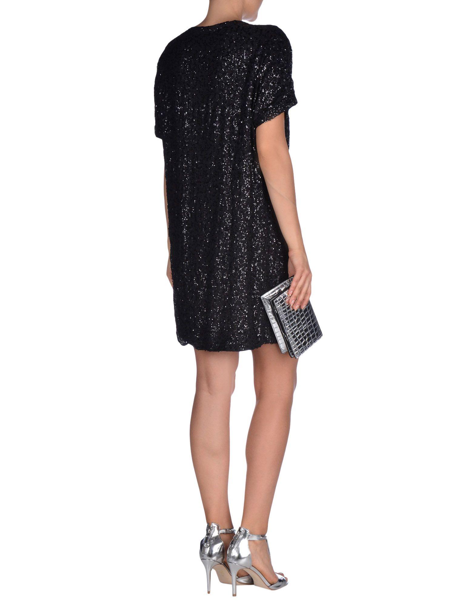 Creative Michael Michael Kors Long-sleeve Dress In Black | Lyst