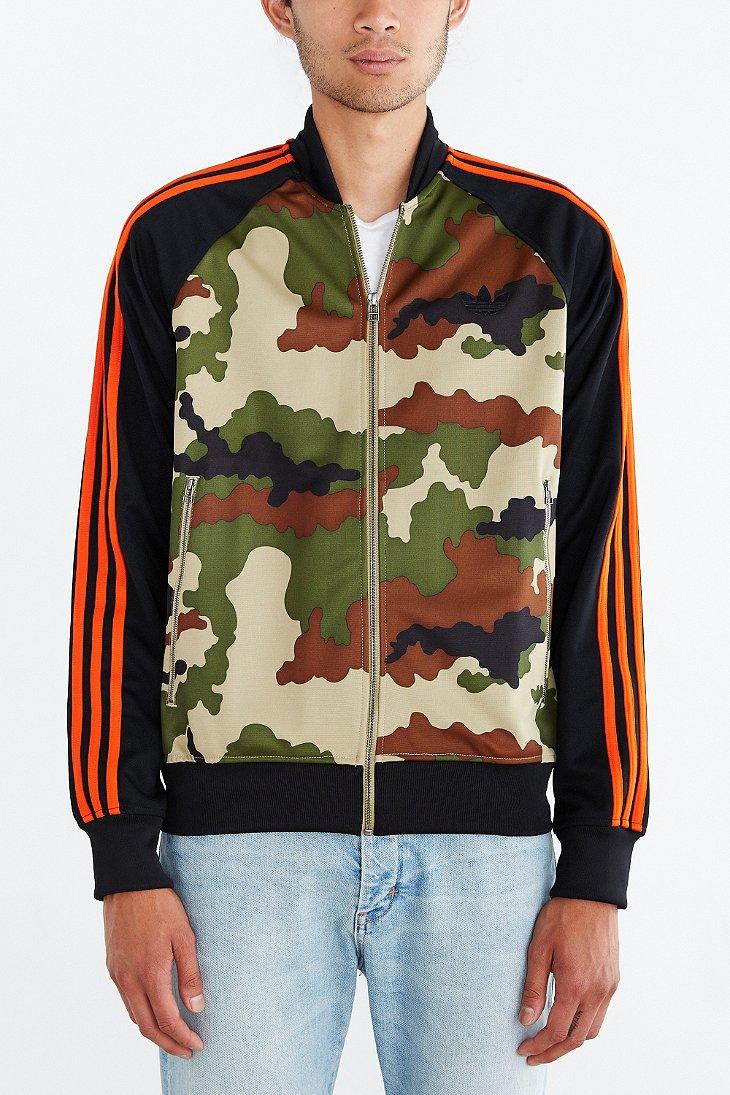 6f971589 adidas Originals Start Superstar Camo Track Jacket for Men - Lyst