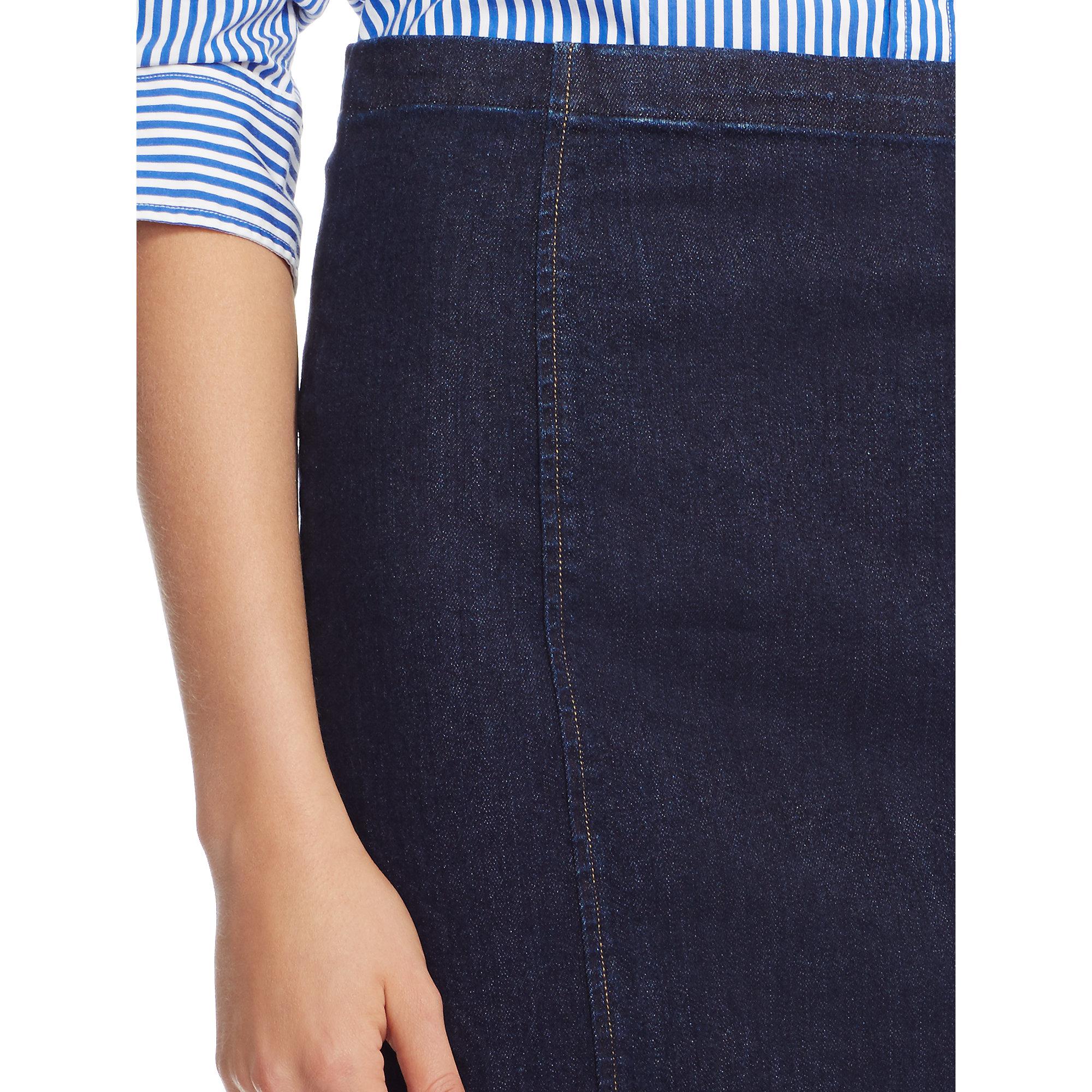 korkealaatuinen erityinen tarjous kuumia uusia tuotteita Denim Pencil Skirt