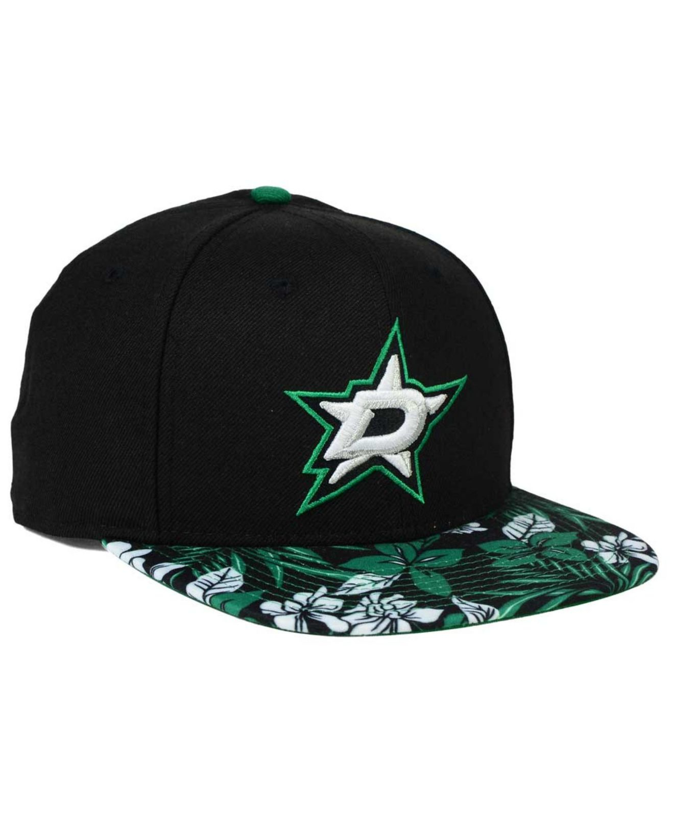 b0a400f8a KTZ Dallas Stars Wowie 9fifty Snapback Cap in Black for Men - Lyst