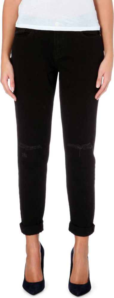 j brand jake slim fit boyfriend low rise denim jeans in. Black Bedroom Furniture Sets. Home Design Ideas