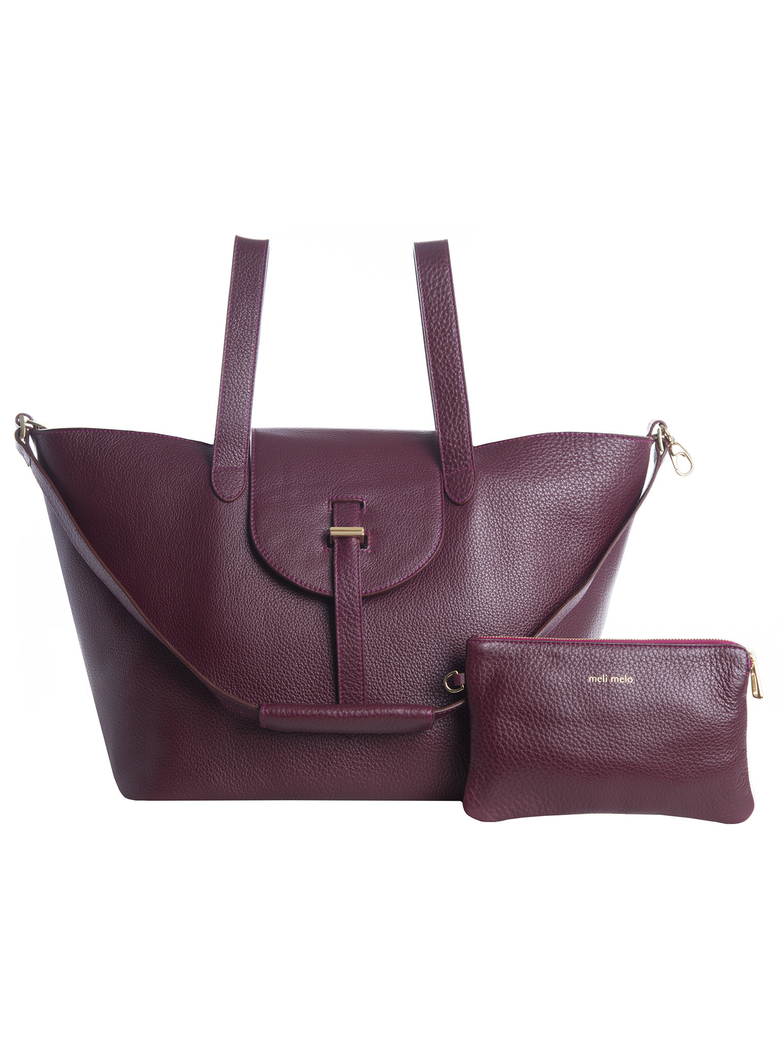 Lyst - meli melo Thela Burgundy in Purple 492acd9a42b1a