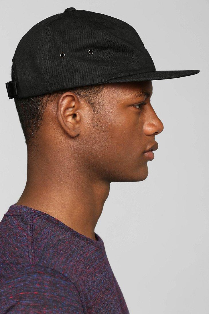 3eb507d3 Vans Black Salton Strap-Back Hat for men