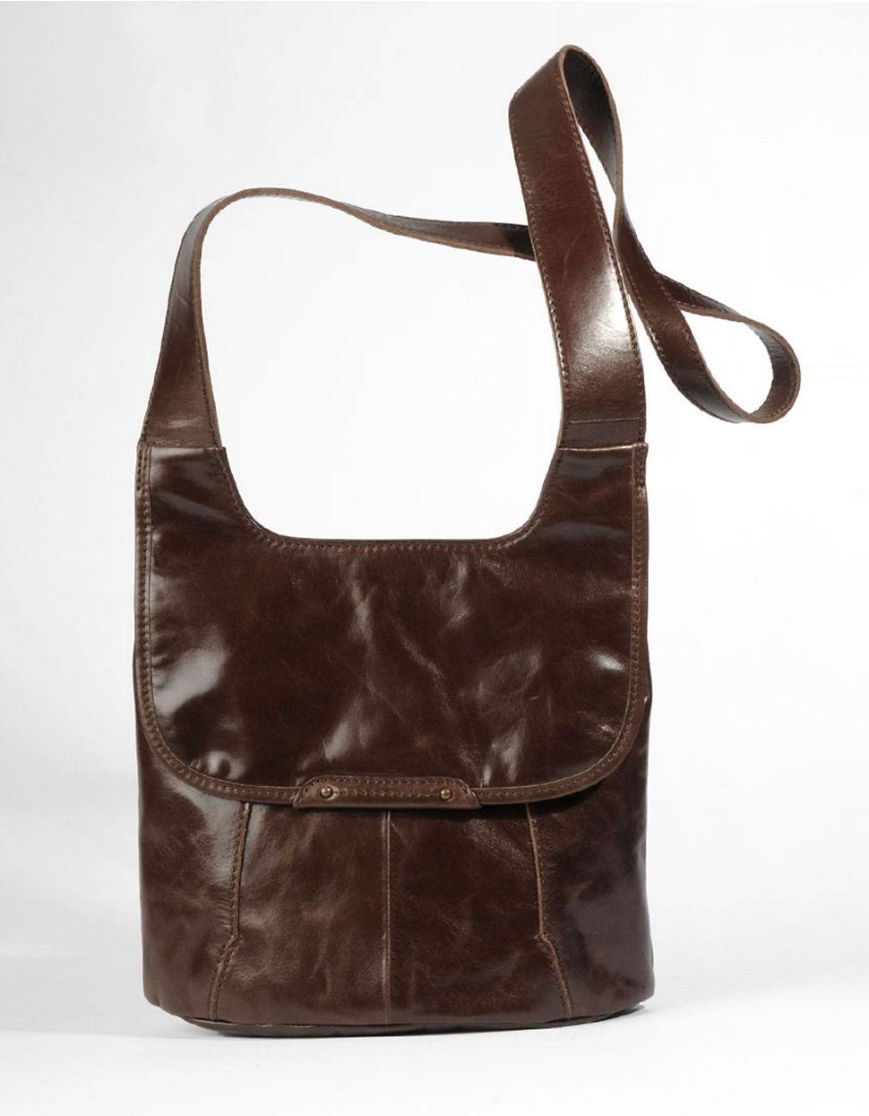 Lyst - Hobo Rockler Leather Crossbody Bag in Brown