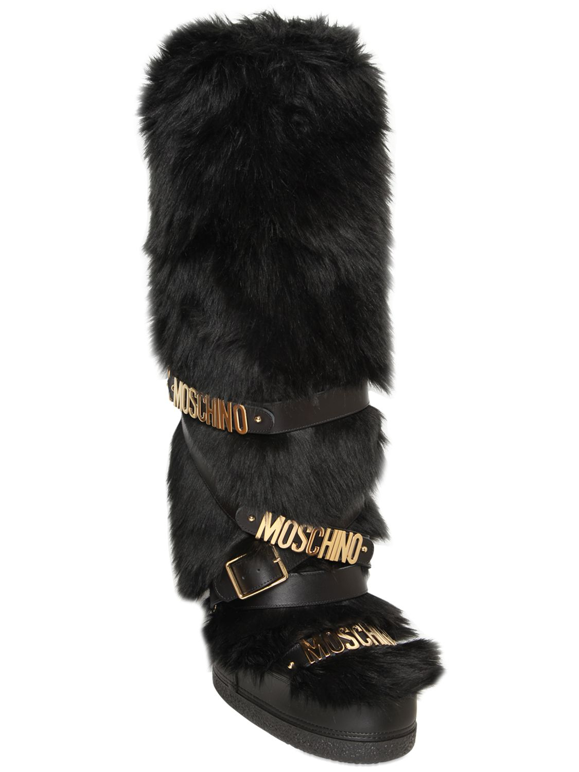 moschino boots sale
