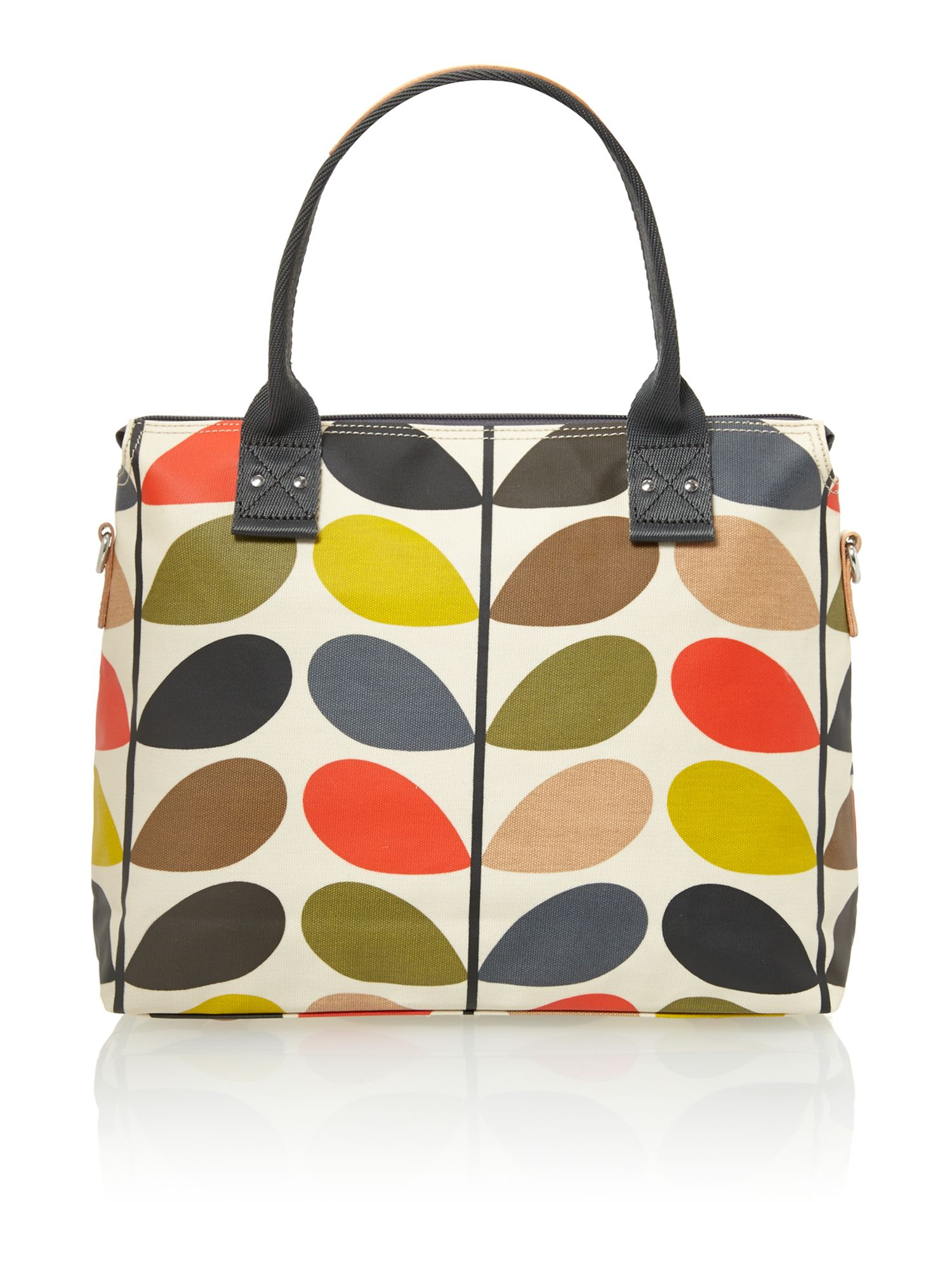 orla kiely classic multi coloured stem print tote bag lyst. Black Bedroom Furniture Sets. Home Design Ideas