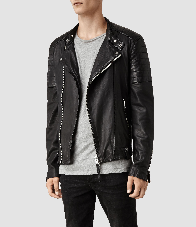 Leather jacket all saints - Real Leather Jackets All Saints Photo Blog